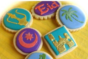 Most Inspiring Festival Eid Al-Fitr Decorations - Eid-themed-cookies-300x200  Pictures_318795 .jpg