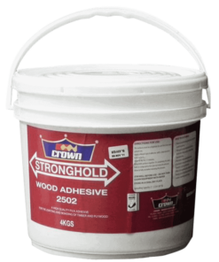Wood Adhesive, crown paints shop, Stronghold Wood Adhesive
