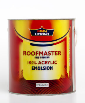 roof master, self priming, acrylic emulsion paint,Adhesives, Automotive, Industrial, Intermediate, Road Marking, Thinners, Decorative, Wood Finishes, ZERO VOC