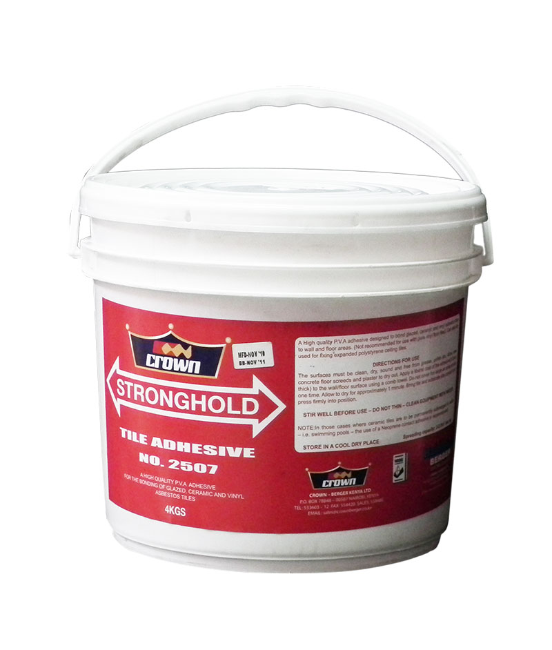 Stronghold Tile Adhesive Crown Paints Kenya PLC