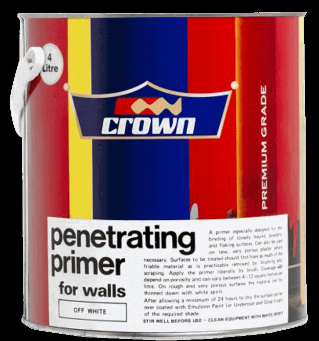 Crown Penetrating Primer - Crown Paints Kenya PLC