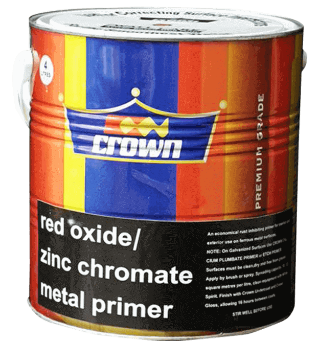 Crown Zinc Chromate Metal Primer - Crown Paints Kenya PLC