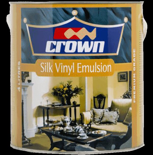 Crown Silk Vinyl Decorative Paint Crown Paints Kenya Plc