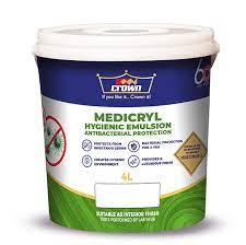 Medicryl Anti-Bacterial Silk Sheen Emulsion, Crown Paints Kenya PLC