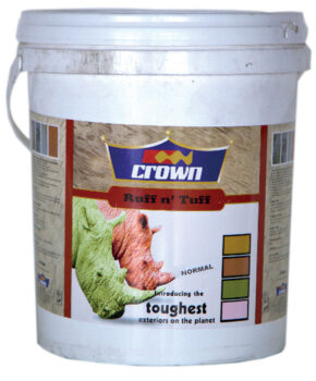 Crown Paints Ruff & Tuff Exterior Paint, Adhesives, Automotive, Industrial, Intermediate, Road Marking, Thinners, Decorative, Wood Finishes, ZERO VOC