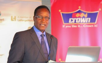 Cabinet Secretary, Ministry of Land, Housing and Urban Development, Prof. Jacob T. Kaimenyi