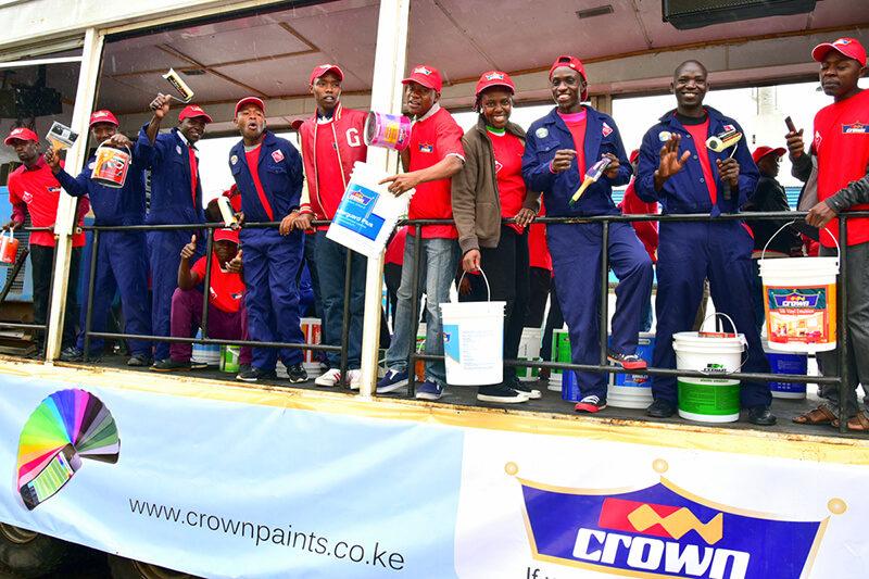 Crown Paints Jubilant Staff