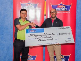 Crown Paints Kenya Golf Sponsoring