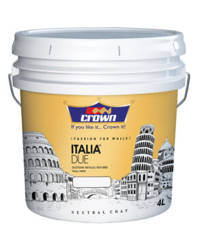 Italia due, Adhesives, Automotive, Industrial, Intermediate, Road Marking, Thinners, Decorative, Wood Finishes, ZERO VOC, crown paints