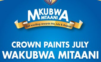 Crown Paints Wakubwa Mtaani July